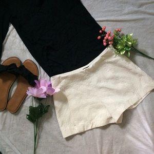 Adorable White Shorts